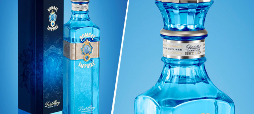 Bombay Sapphire Packaging – NEW