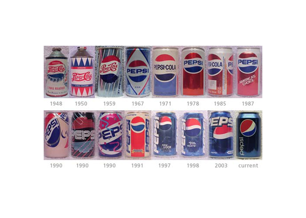 pepsi design evolution