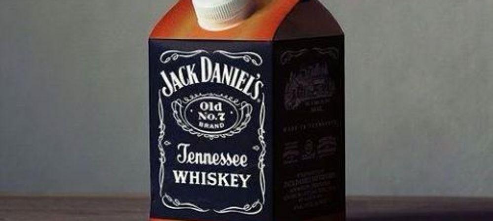 Jack Daniel's in a Milk Carton?