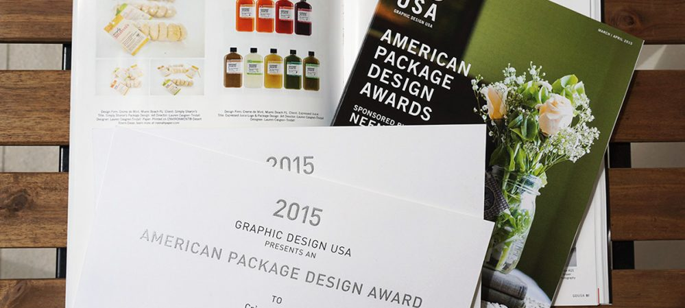 Creme de Mint – Winner of Two American Package Design Awards