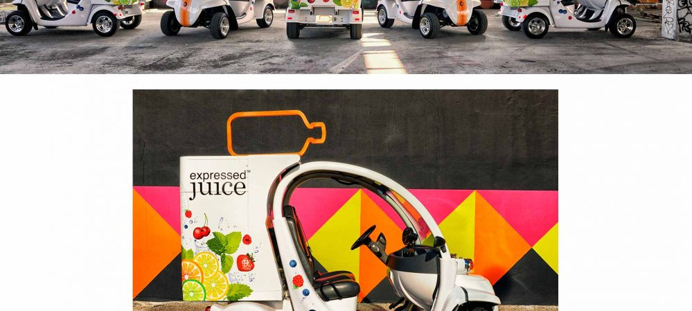 Expressed Juice Vehicle Graphics
