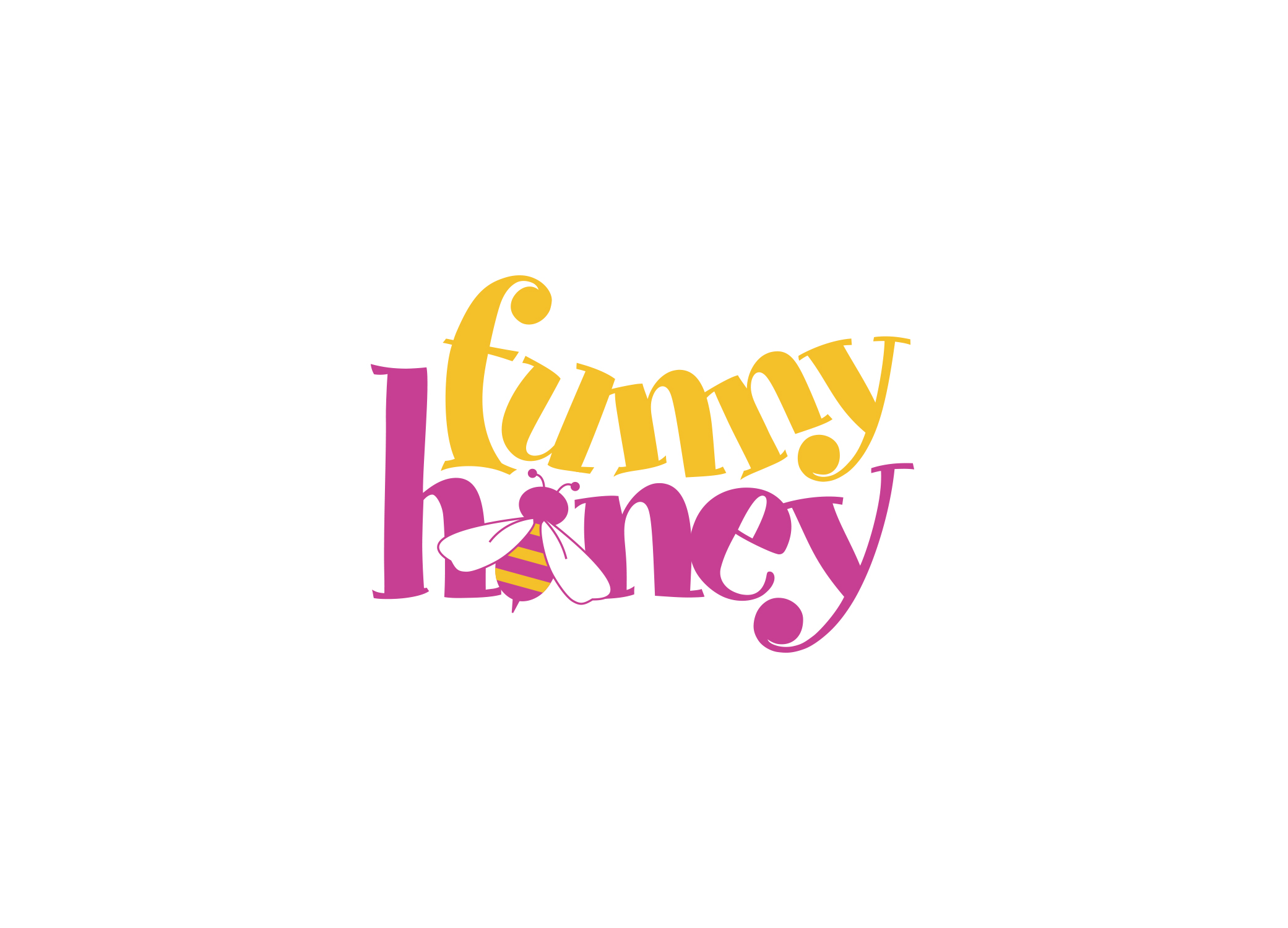Funny_Honey_Entertainer_Logo_Design
