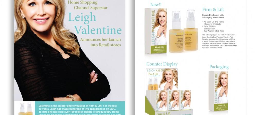Leigh Valentine Skincare Brochure