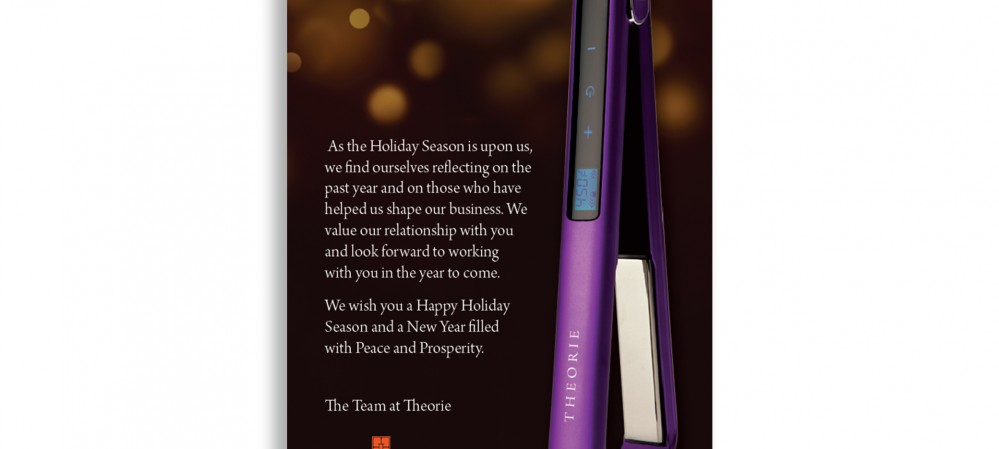 Theorie Holiday E-Blast & Postcard