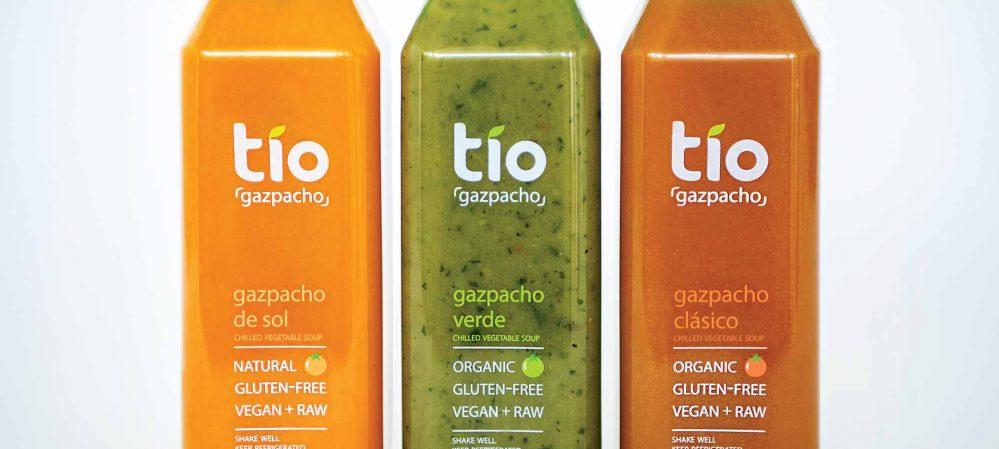 Tio Gazpacho Package Design