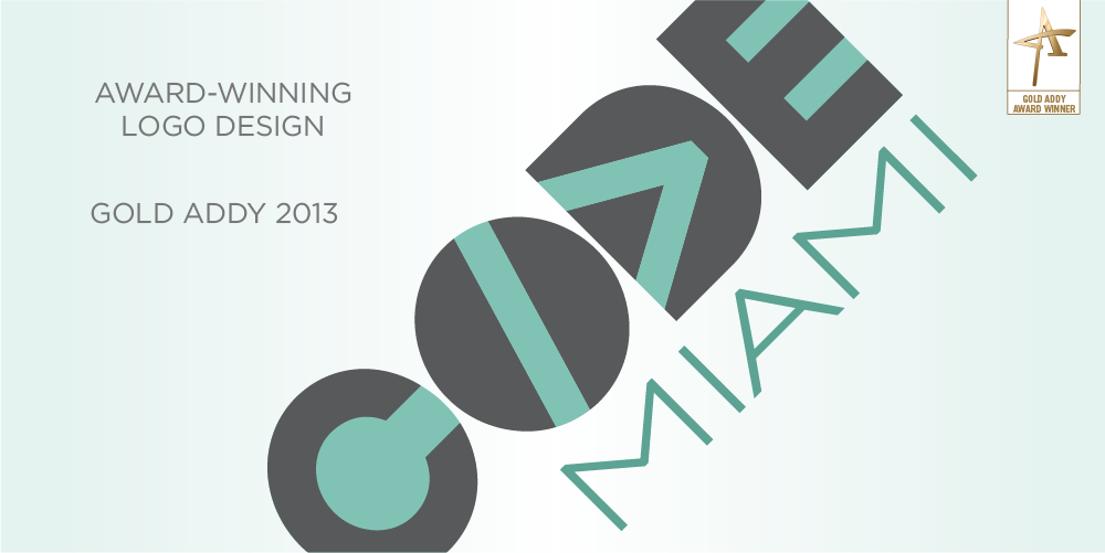 Awarding winning logo Code Miami