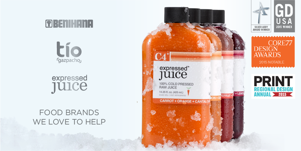 Award Winning Juice Package Design Expressed Juice