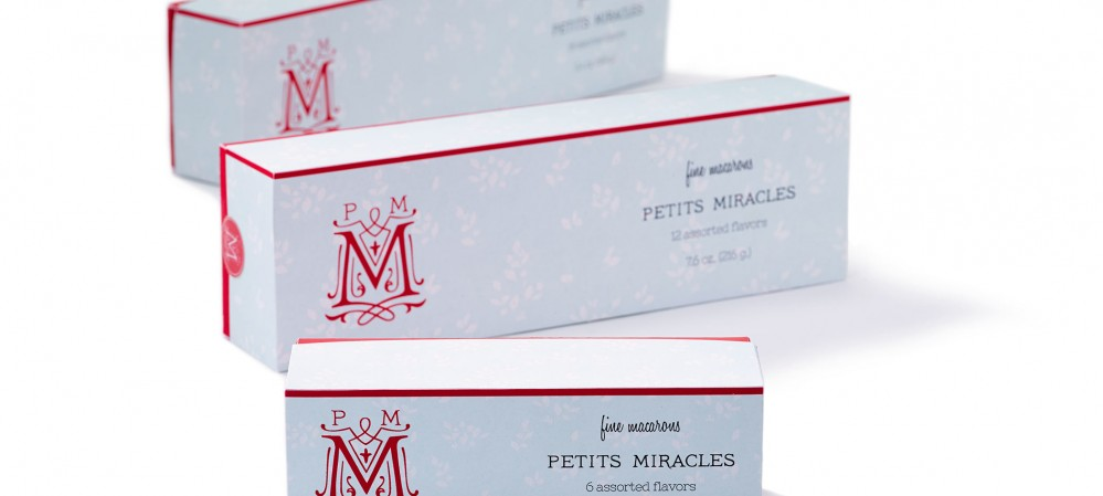 Petits Miracles Macaron Package Design