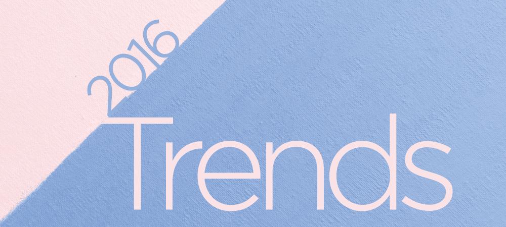 2016 Beauty Trends