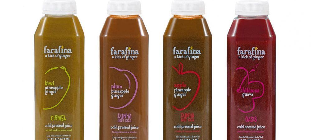 Farafina Juice Package Design