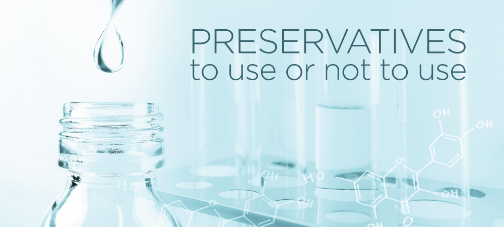 Should I use preservatives in cosmetics?