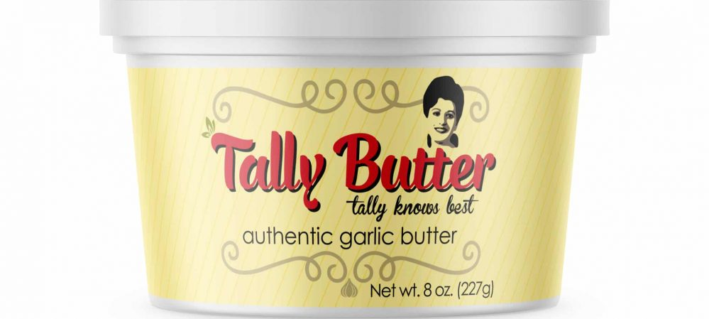 Tally Butter Package Design