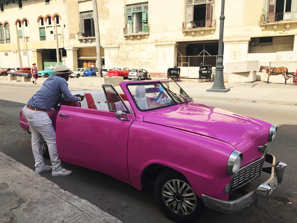 Classic Cars are Everywhere in Havana