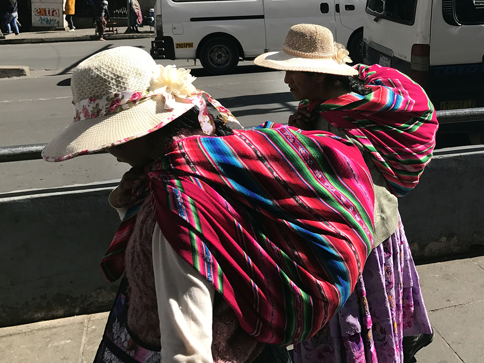 Colorful Cholitas