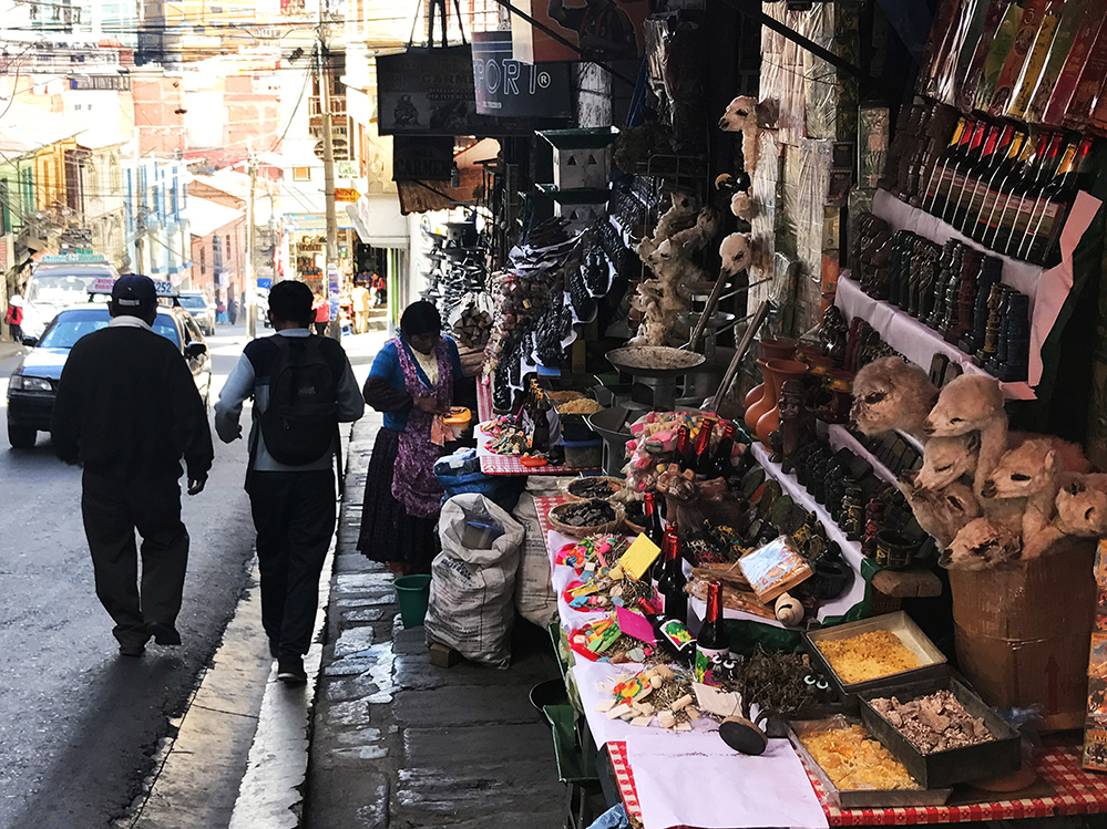 Witches' Market in La Paz