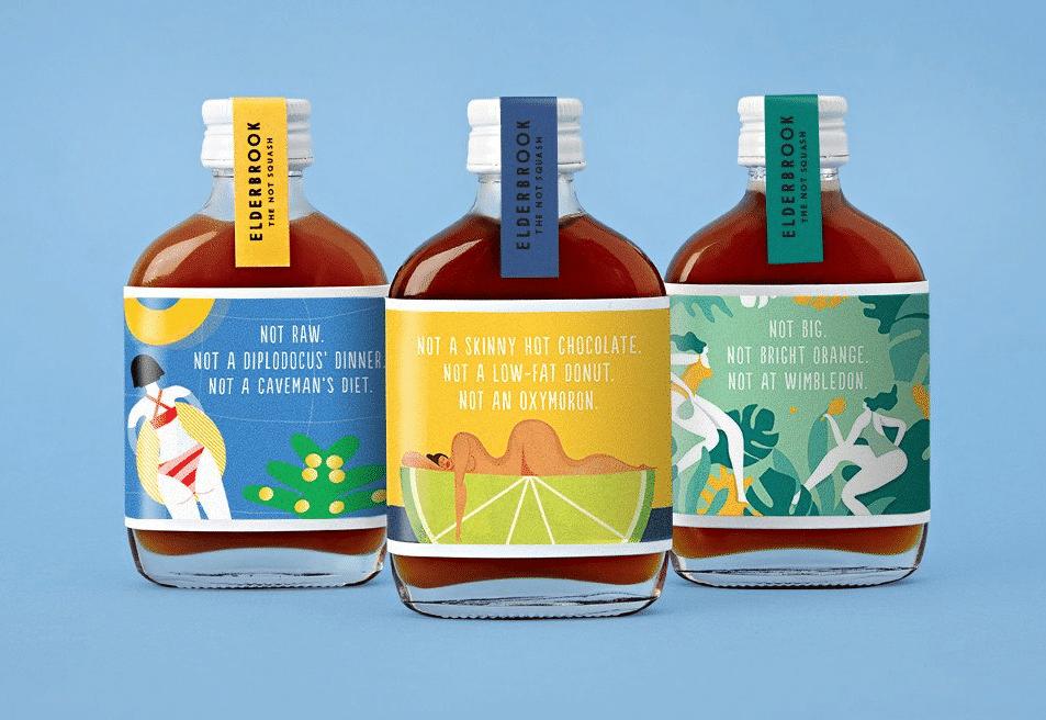 illustration packaging