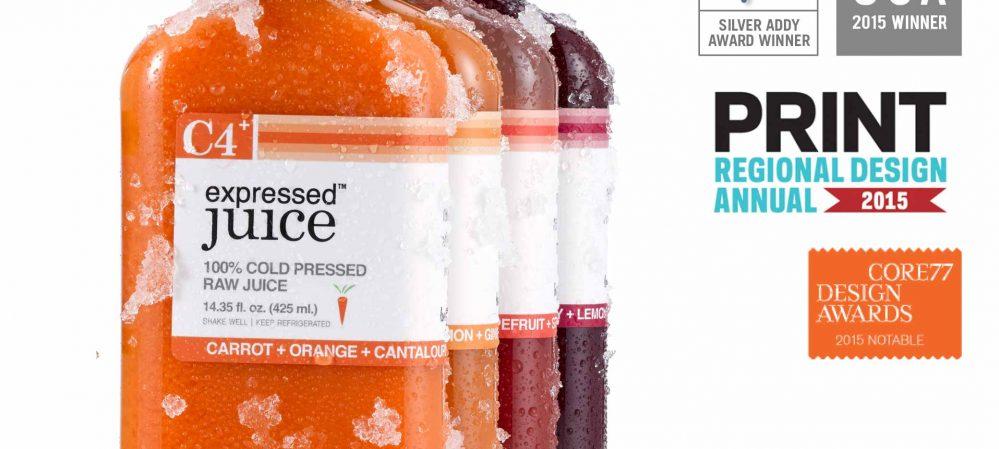 Expressed Juice Package Design