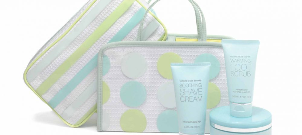 Victoria's Secret Spa Secrets Cosmetic Gift Bag Design I
