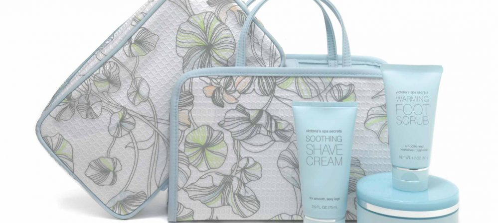 Victoria's Secret Spa Secrets Travel Gift Set Design