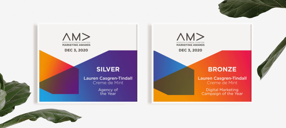 Creme de Mint Wins Two American Marketing Association Awards: How We Did It and What It Means for Our Clients